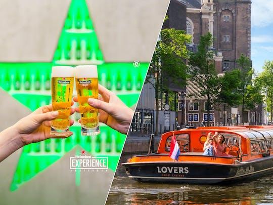 Опыт Heineken и 1-часовой круиз по каналу в Амстердаме