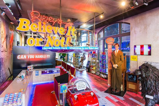 Ripley's Believe It or Not! Amsterdam fast track ticket