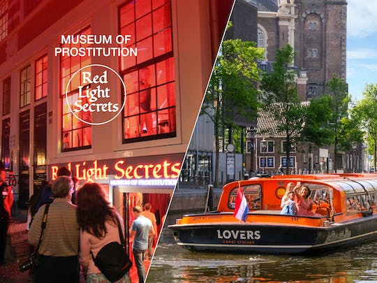 Amsterdam Red Light Secrets museum and 1-hour canal cruise