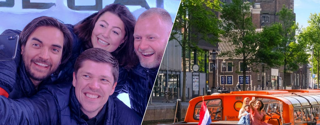 Bilhete de entrada para o Amsterdam XtraCold Icebar e cruzeiro de 1 hora pelos canais
