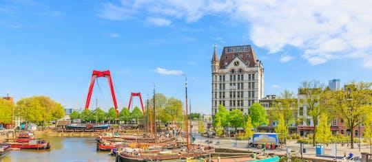 Visite privée à vélo de Rotterdam XL de 4 heures