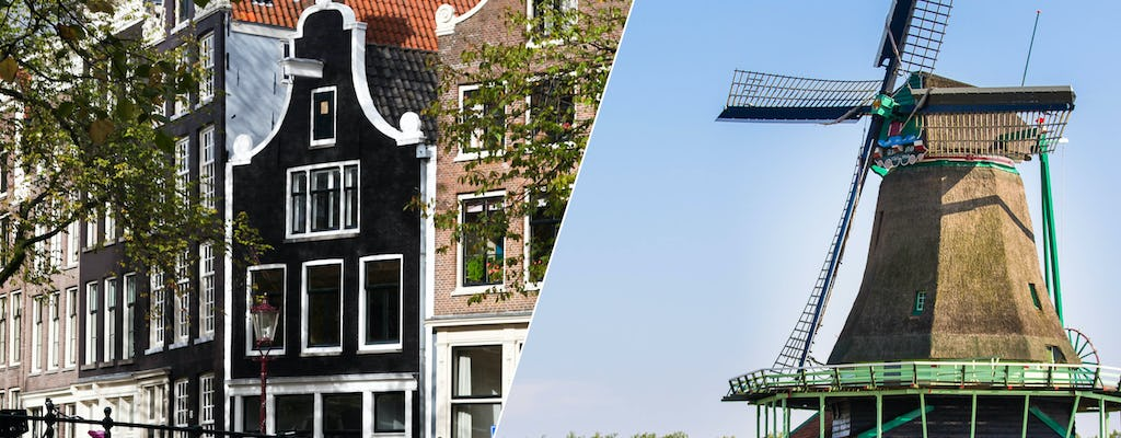Amsterdam city tour with Marken, Volendam and the windmills