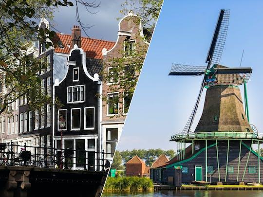 Amsterdam city tour with Marken, Volendam and the windmills