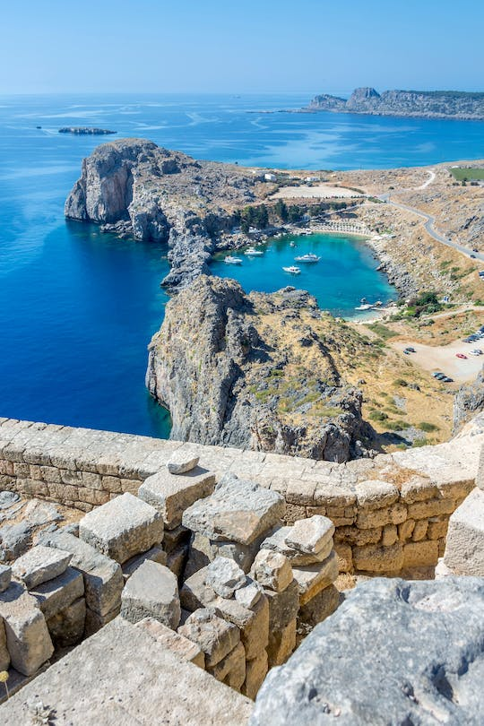 Lindos by Boat from Kolymbia