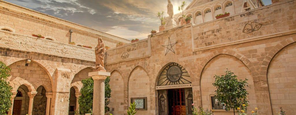 Day tour of Bethlehem, River Jordan and Jericho from Jerusalem