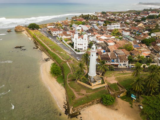 Galle, Madu river and Hikkaduwa beach tour from Colombo