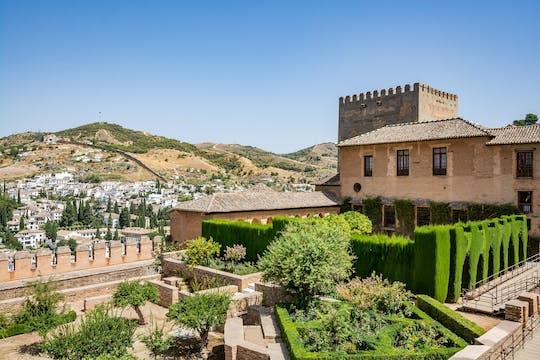 Visita guiada à Alhambra e Granada saindo de Sevilha
