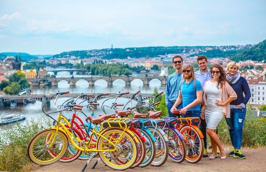 Семь лучших видов в Праге e-велосипед тур