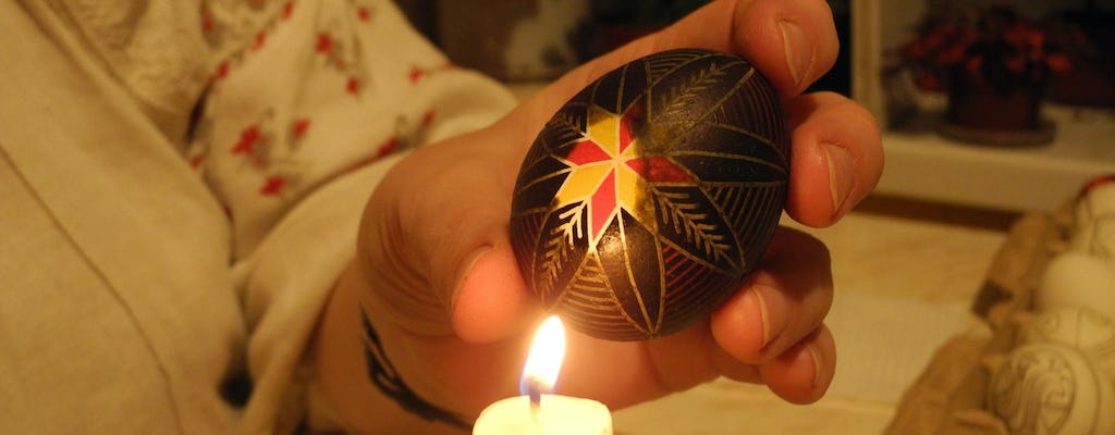Private traditional Easter egg Pysanka painting class
