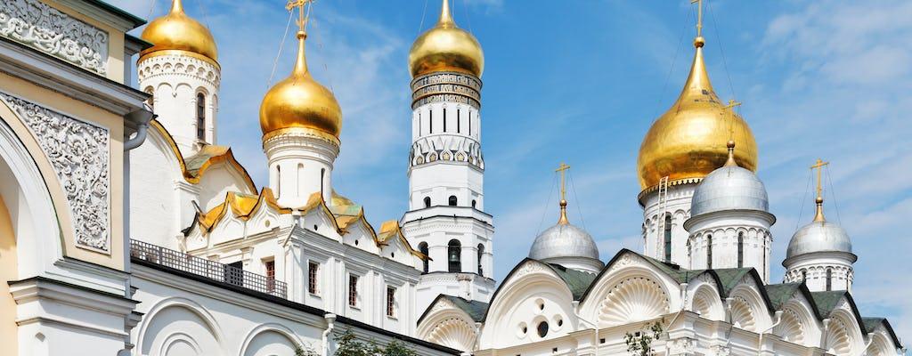 Tour durch den Moskauer Kreml, die Waffenkammer und den Diamantenfonds