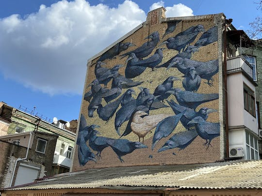 Private walking tour of Kyiv's street art
