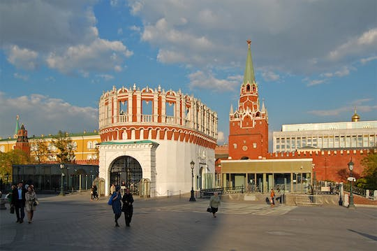 2-hour private Moscow Kremlin tour