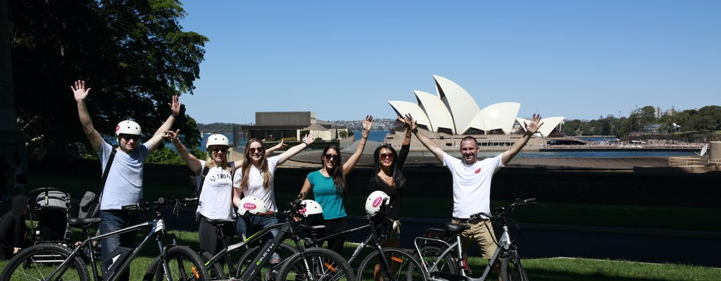 The Sydney Express: 2.5 hour sightseeing electric bike tour
