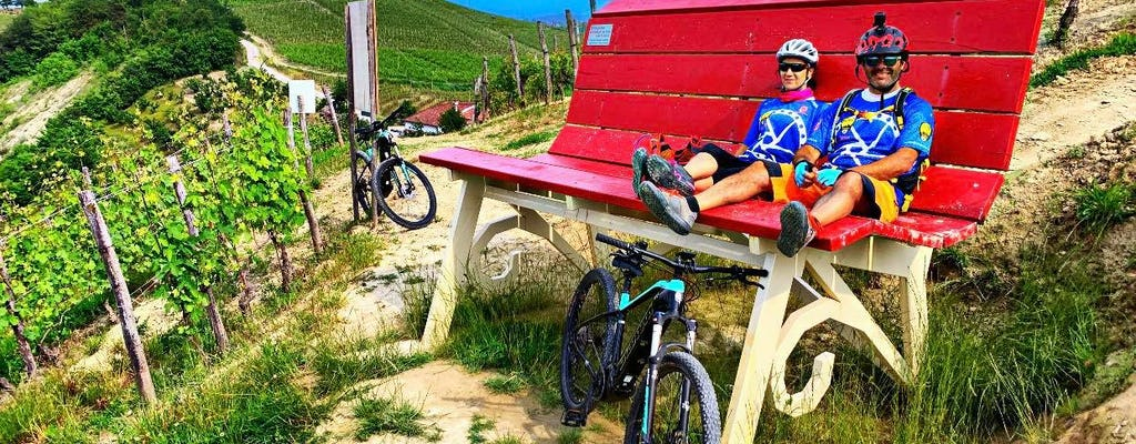 E-bike tour of the Big Benches of the Langhe