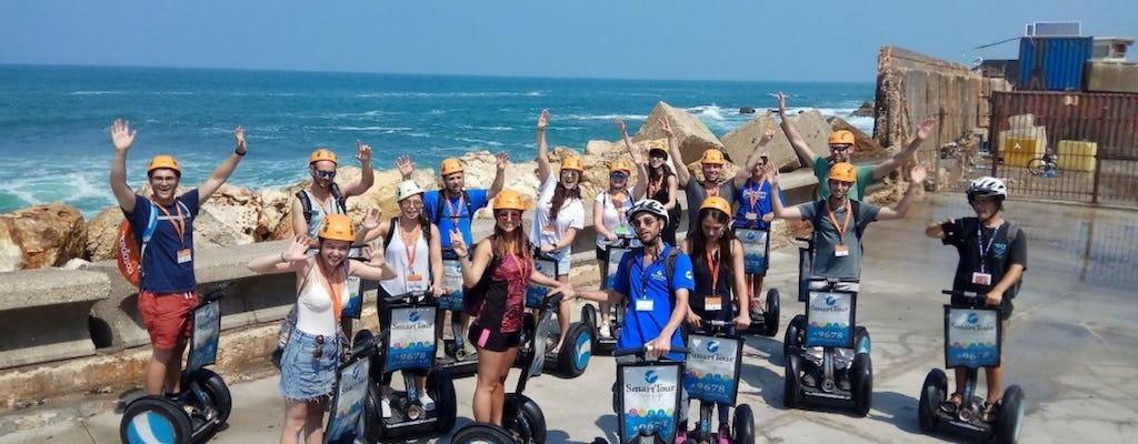 Self-balancing scooter tour in Tel Aviv