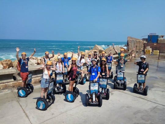 Self-balancing scooter tour in Tel Aviv