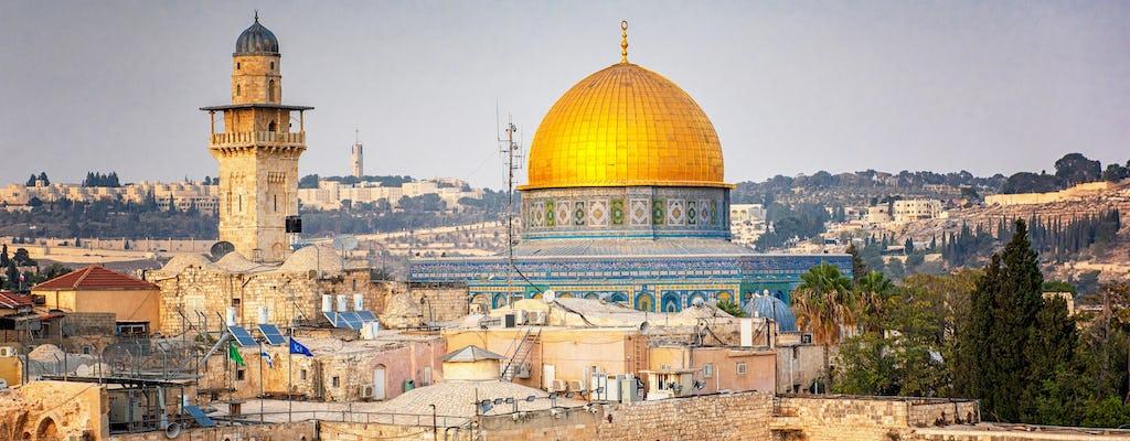 Jerusalém e o Mar Morto excursão de um dia saindo de Jerusalém