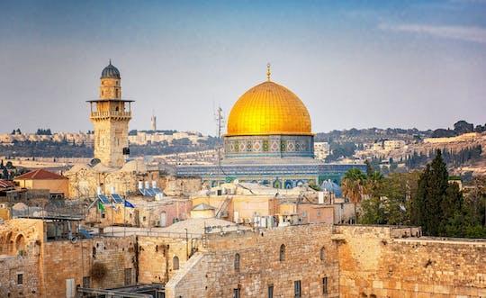 Tour de día completo a Jerusalén y el Mar Muerto desde Jerusalén