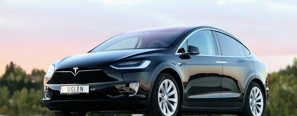 Malmö in 30 minutes in a Tesla car
