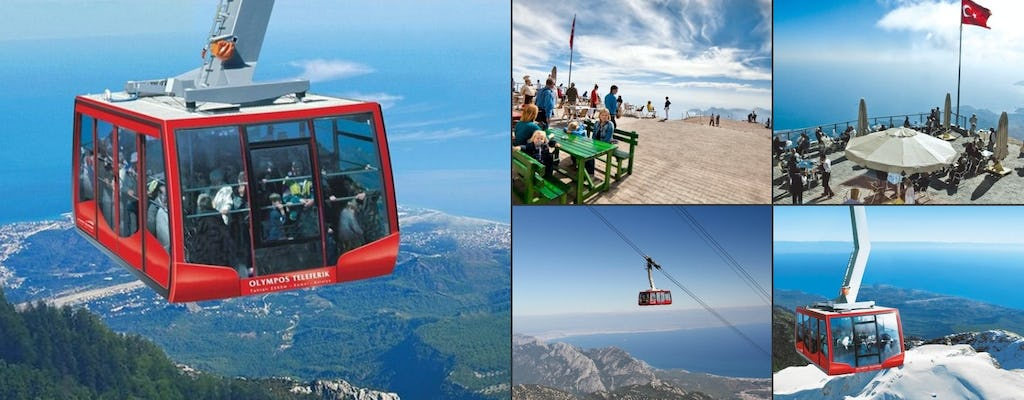 Olympos cable car ride to Tahtali mountains