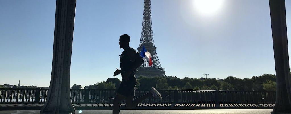 Wschód i zwiedzanie w Paryżu