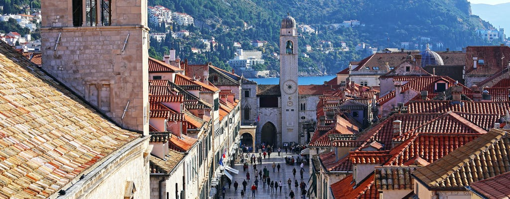 Muralhas privadas de Dubrovnik e city tour