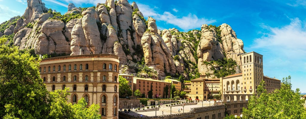 Montserrat Sanctuary visit with one-way rack railway