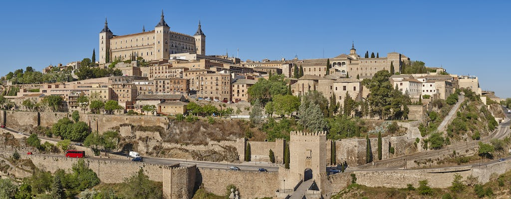 Toledo sightseeing tour with tourist train tickets