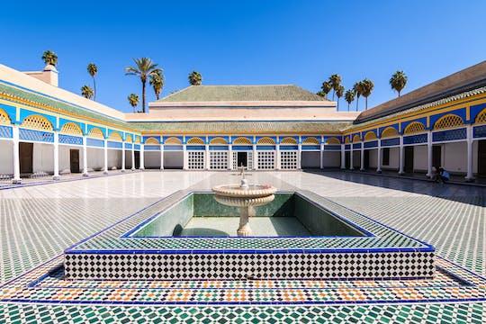 Tour de historia de Marrakech