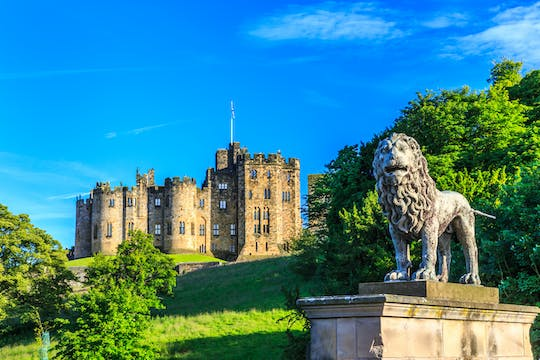 Alnwick Castle, the Northumberland Coast and the Borders tour from Edinburgh