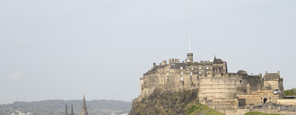 Edinburgh city tour by glass-roofed, convertible mini-coach