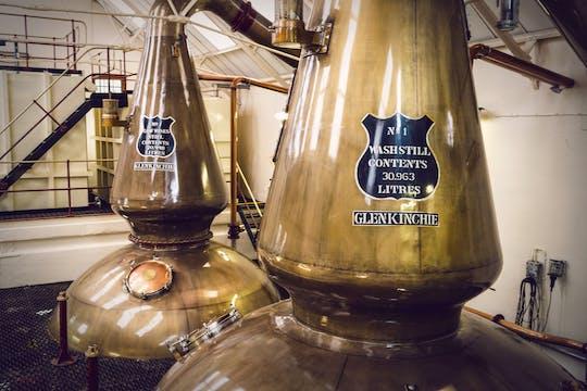 Excursión de un día para grupos pequeños de cervezas, whiskies y ginebras de East Lothian desde Edimburgo