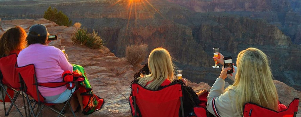 Grand Canyon West sunset photo tour From Las Vegas