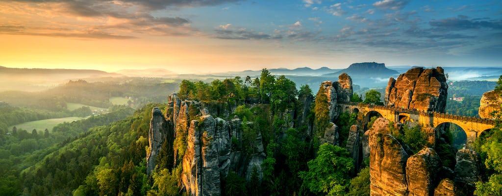 Dagtrip naar het beste van Boheems en Saksisch Zwitserland vanuit de wandeltocht door Dresden