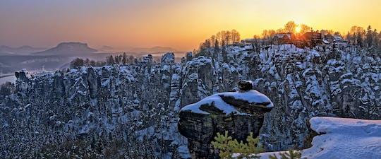 Best of Bohemian and Saxon Switzerland day trip from Dresden winter tour