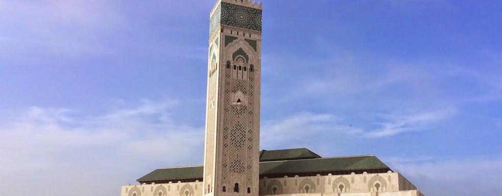 Wycieczka po Casablance i meczecie Hassana II