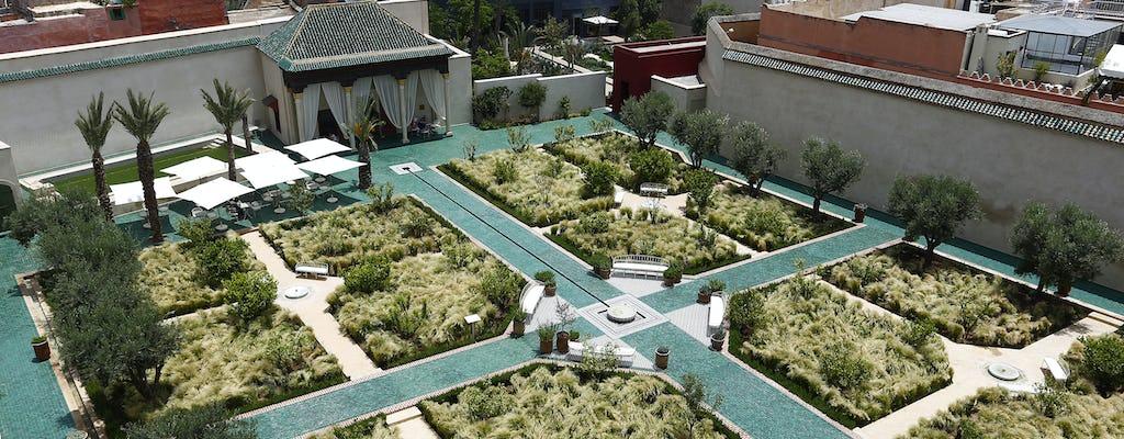 Tour dei giardini e dei bastioni di Marrakech