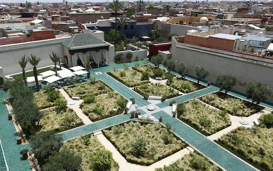 Marrakech's gardens and ramparts tour