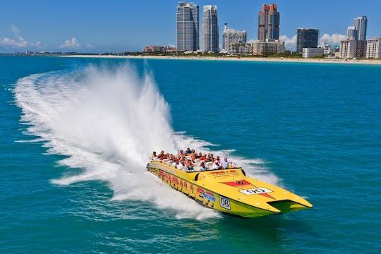 Miami Movie tour with speedboat