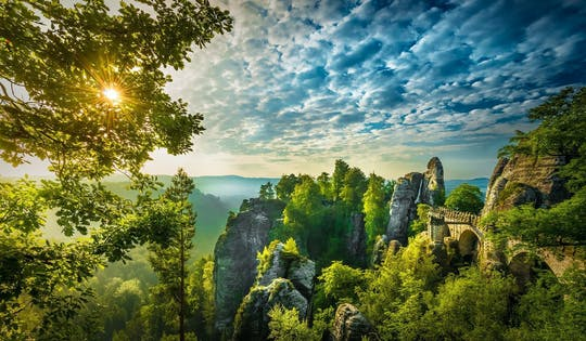 Best of Bohemian and Saxon Switzerland day trip from Prague hiking tour