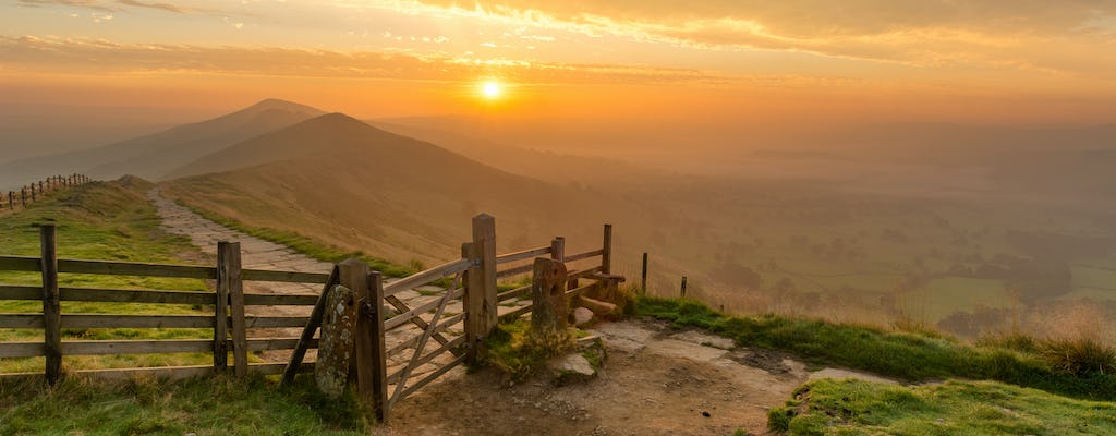 Derbyshire, the Peak District and Poole's Cavern small group tour from Manchester