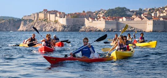 Dubrovnik sea kayaking and snorkeling with snack