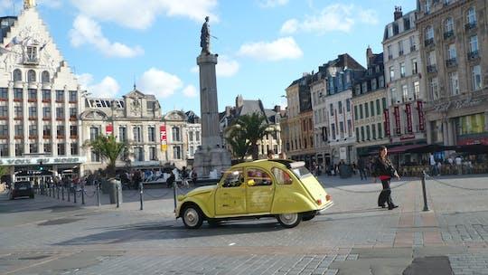 Visita guiada por Lille en un Citroën 2CV con una pausa para el champán