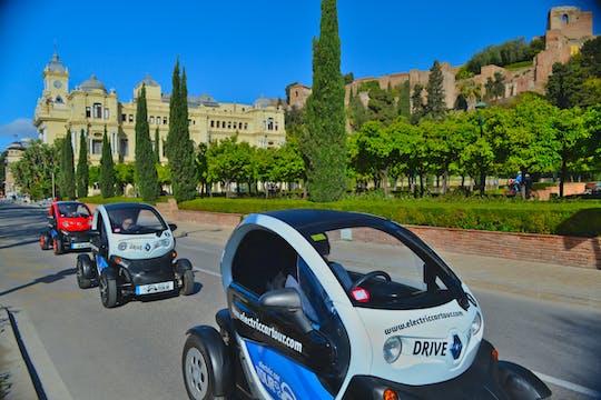 Private Tour durch Málaga mit einem Elektroauto