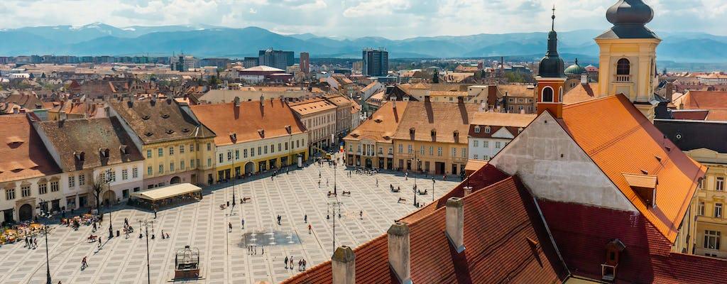 2-hour city tour in Sibiu