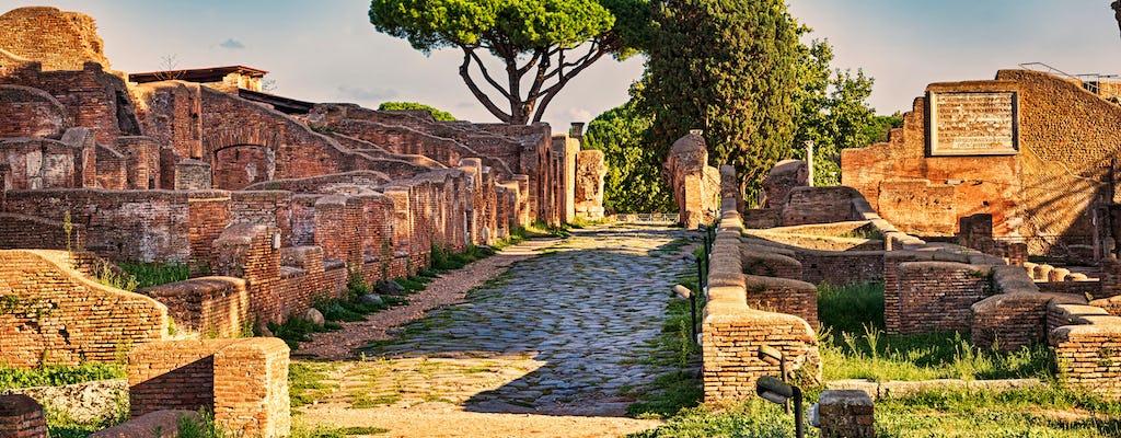Excursão a pé pela antiga Ostia