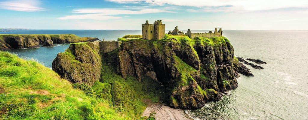 Dunnottar Castle y Royal Deeside tour en grupos pequeños desde Aberdeen