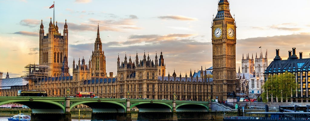 Экскурсии в Вестминстерский дворец и снаружи здания парламента