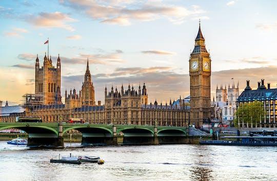 Visita all'interno del Palazzo di Westminster e fuori dal Palazzo del Parlamento