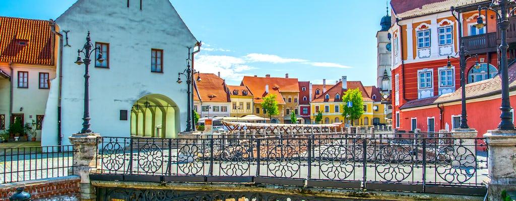 Passeio gastronômico a pé em Sibiu